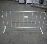 Flat Type Foot Hot DIP Galvanized Crowd Barrier