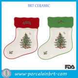 Christmas Stockings Shaped Manufacturer of Porcelain Dishes