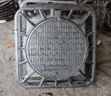 Heavy Duty Frame with Casting Iron Round Cover D400