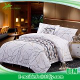 China Factory Deluxe Printing Apartment Cotton Flat Sheet