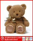 Fluffy Long Hair Teddy Bear Toy with Ribbon