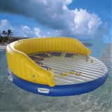 Custom Size Inflatable Round Floating Water Air Mattress for Pool