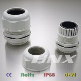Hnx Grey 7035 Color Plastic Material Electrical Cable Gland M25