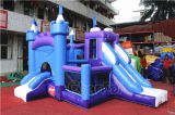 8 in 1 Frozen Inflatable Jumping Castle Combo Chb724