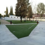 W-Shape Landscaping Sythetic Grass for Playground with CE & SGS