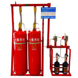 5.6MPa Pipe Network FM200 Gas Fire Extinguisher System