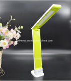 Green LED Rechargeable Desk Lamp