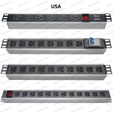19 Inch USA Type Universal Socket Network Cabinet and Rack PDU (1)