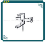 Chrome Finished Wall Mounted Single Lever Bathroom Shower Mixer