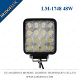High Quality 12V 4.3 Inch 48W Offroad LED Work Light Bridgelux