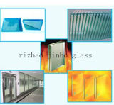 High Quality Fire Resistance Glass with SGS Certificate (JINBO)