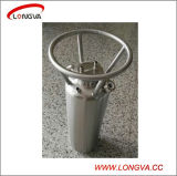 Stainless Steel Water Solvent Tank with DIP Tube