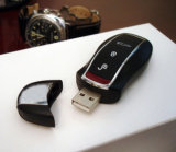 Metal Key USB Flash Pendrive/Car Key USB Pen-Drive
