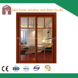 Factory Price Aluminum PVC Sliding Doors with Blinds