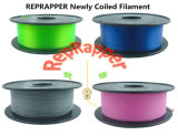 Reprapper Newly Coiled 3D Filament
