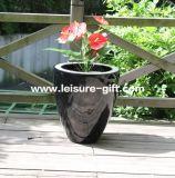 Fo-217home&Garden Decorative Fiberglass Flower Pot