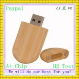 Engraving Logo 8GB USB Stick of Wooden (GC-W003)