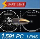 PC Optical Lens /Index 1.591 Polycarbonate Single Vision Lens/ Impact Resistance Safety Glasses/ Anti-Glare/Hmc