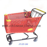 Plastic Shopping Carts, Shopping Trolley (JT-EP-180)