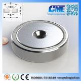 N40m D76.2X19.05mm High Quality NdFeB Pot Magnet