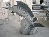 G654 Granite Stone Fish Sculpture for Garden/Fountain/Home Decoration