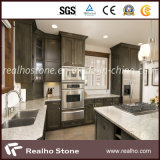 Polished Cream White Kitchen Marble Countertops for Luxury Design