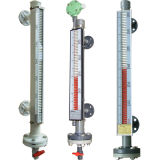 Magnetic Level Gauge with Liquid Level Switches and Level Transmitter