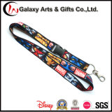 Dye Sublimation Promotional Polyester Full Colour Printed Lanyard