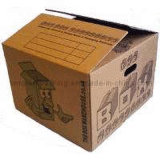 Water Proof Printing Corrugated Paper Moving Boxes