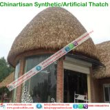 Artificial Thatch Synthetic Thatch Plastic Palm Tree Leave Thatch Roofing Tiles 11