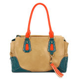 Colorful Designer High Quality Leather Lady Handbag (MBNO032062)