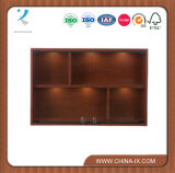 Four Compartment Wall Mounted Display Case