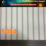 White Sleeve Lining for Suit/Garment, Polyester Stripe Fabric (S84.92)