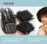 10A Kinky Curly Human Hair Extension Natural Brazilian Remy Virgin Hair Lbh 005