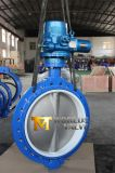 36′′ PTFE Seat Electric Actuator Wafer Butterfly Valve (D971X-10/16)