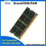 Full Compatible Unbuffered 256mbx8 8bits RAM DDR3 4GB So DIMM
