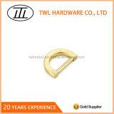Light Gold Metal Flat Mini D Ring for Bags