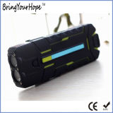 Outside Camp Use Waterproof 10400mAh Power Bank with Bright Torch (XH-PB-179)