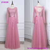 Evening Dress Sequins Beaded Chiffon Sexy Evening Prom Dresses Backless Elegant Formal Gowns