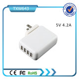 2016 Best Selling 4 Port USB Wall Charger Cell Phone USB Wall Charger for Mobile Phone