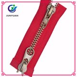 High Quality Metal Open End Zipper for Garment Double Sides