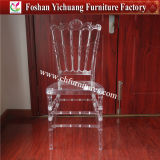 2017 New Design Wholesale Stackable PC Patio Crystal Clear Transparent Plastic Acrylic Resin Tiffany Chiavari Chair for Wedding Banquet Event Party (YC-A168)