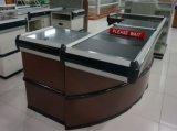 Supermarket Checkout Cash Counter Desk with Conveyor Belt