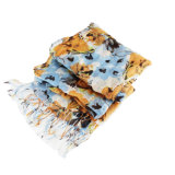 Fashion Cotton and Linen Blended Lady Scarf