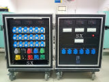 24 Channels 16A Waterproof Power Distro with 3 Phase in