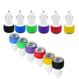 2.1A 1A Dual USB Car Charger for MP4 MP3 iPhone Android