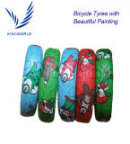 12′′16′′ Small Size Kids Bicycle Tire with Beautiful Patining