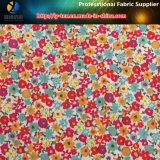 Small Flower Printed, Polyester Dull Pongee Printing and Coating for Down Jacket