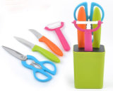 Factory Selling Colorful Best Gift 5PCS Knife Set