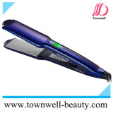 Manufacturer Professional Waterproof Hair Straightener with Wide Plates and Vibration Function